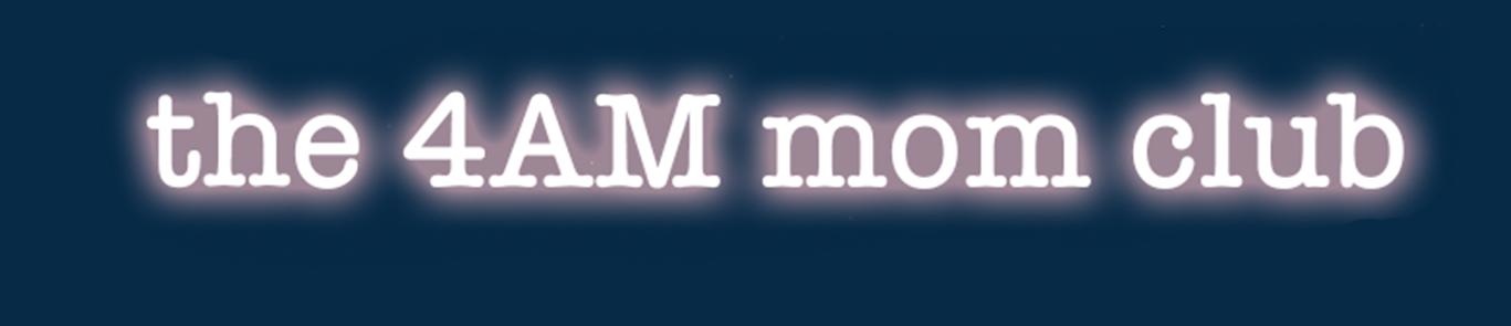 The 4AM Mom Club Logo